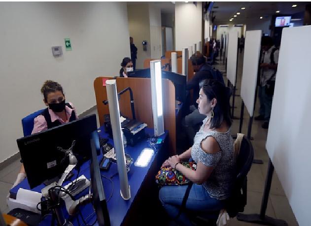 Cédulas extraviadas en Chile