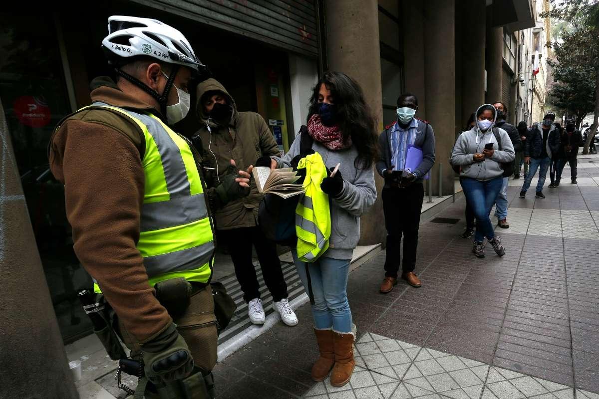 permiso temporal pandemia Chile